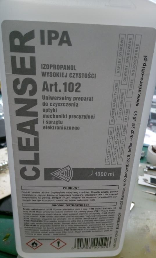 在意大利可以买到的 主板洗板液 这种好用